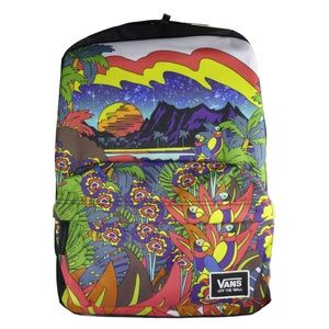 VANS Off The Wall Outdoor Scenery Colorful Backpac
